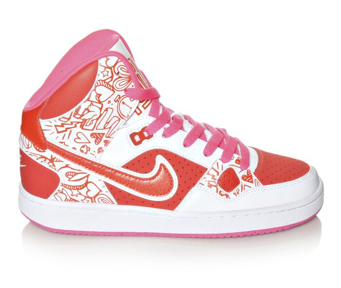 Girls' Nike Son of Force Mid Print 3.5-7 Girls Sneakers