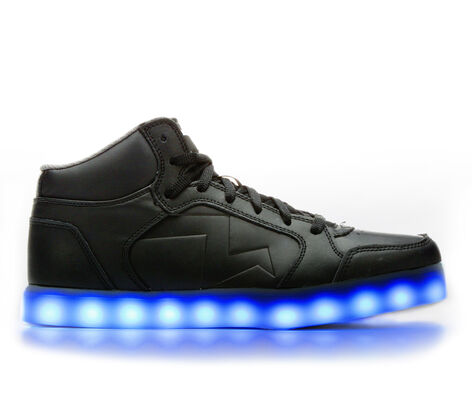 Men's Skechers Parkey Mid 52076 Light-Up Sneakers