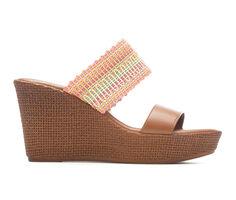 Women's Italian Shoemakers Plum Wedges