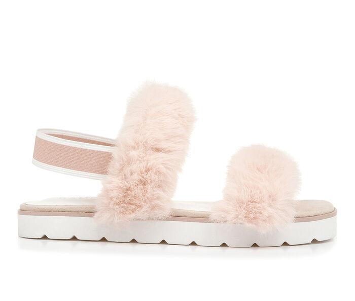 Women's Rampage Avery Fuzzy Sandals