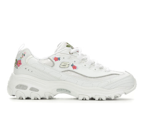 Women's Skechers D'Lites Bright Blossoms 11977 Training Sneakers