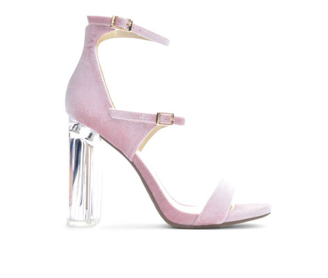 Women's Delicious Toodee Clear Heeled Sandals