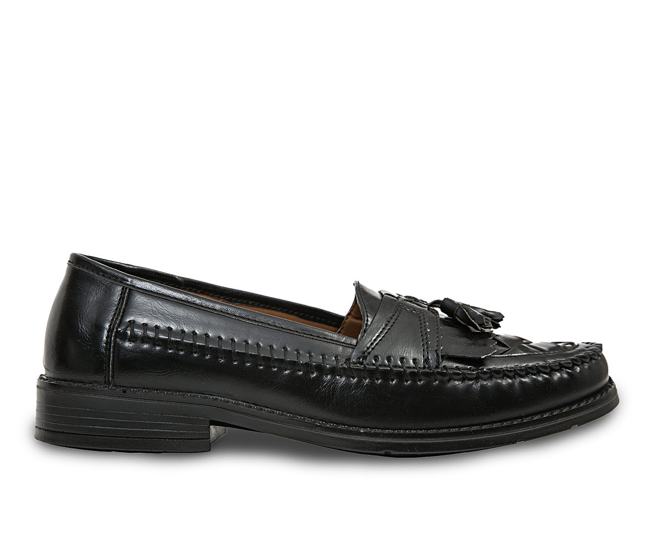 a large collections of Men's Deer Stags Herman Loafers Jet Black