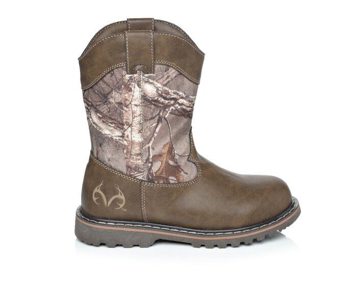 Boys' Realtree Montana Jr II 11-7 Camo Cowboy Boots