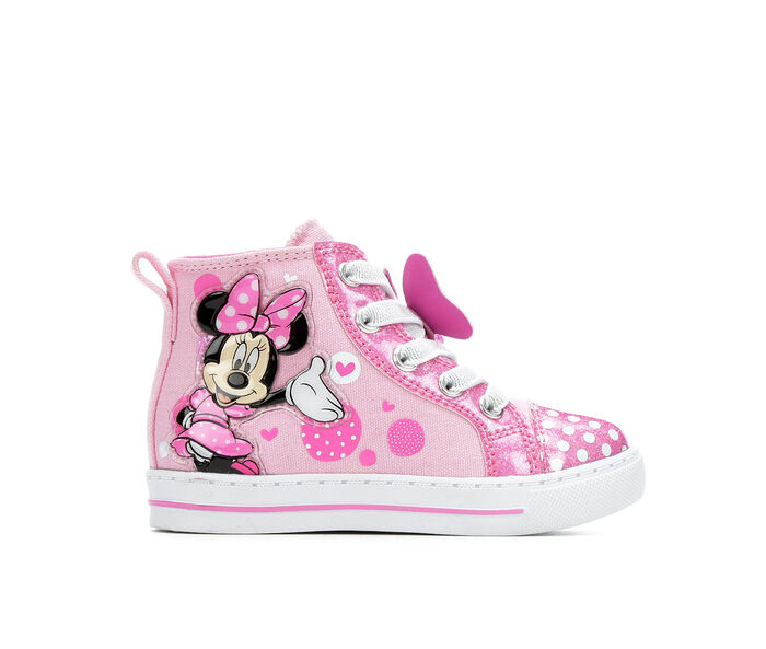 Girls' Disney Toddler & Little Kid Minnie Dots Light-Up Sneakers
