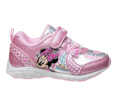 Girls' Disney Toddler & Little Kid CH87312C Minnie Mouse Light-Up Sneakers