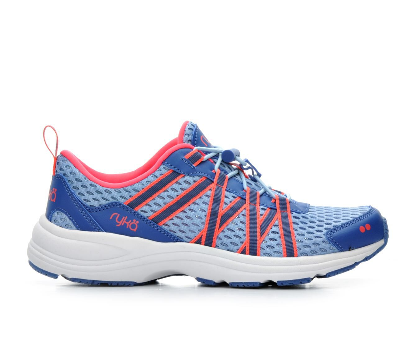 Women's Ryka Aqua Sport Training Shoes Blue/Coral