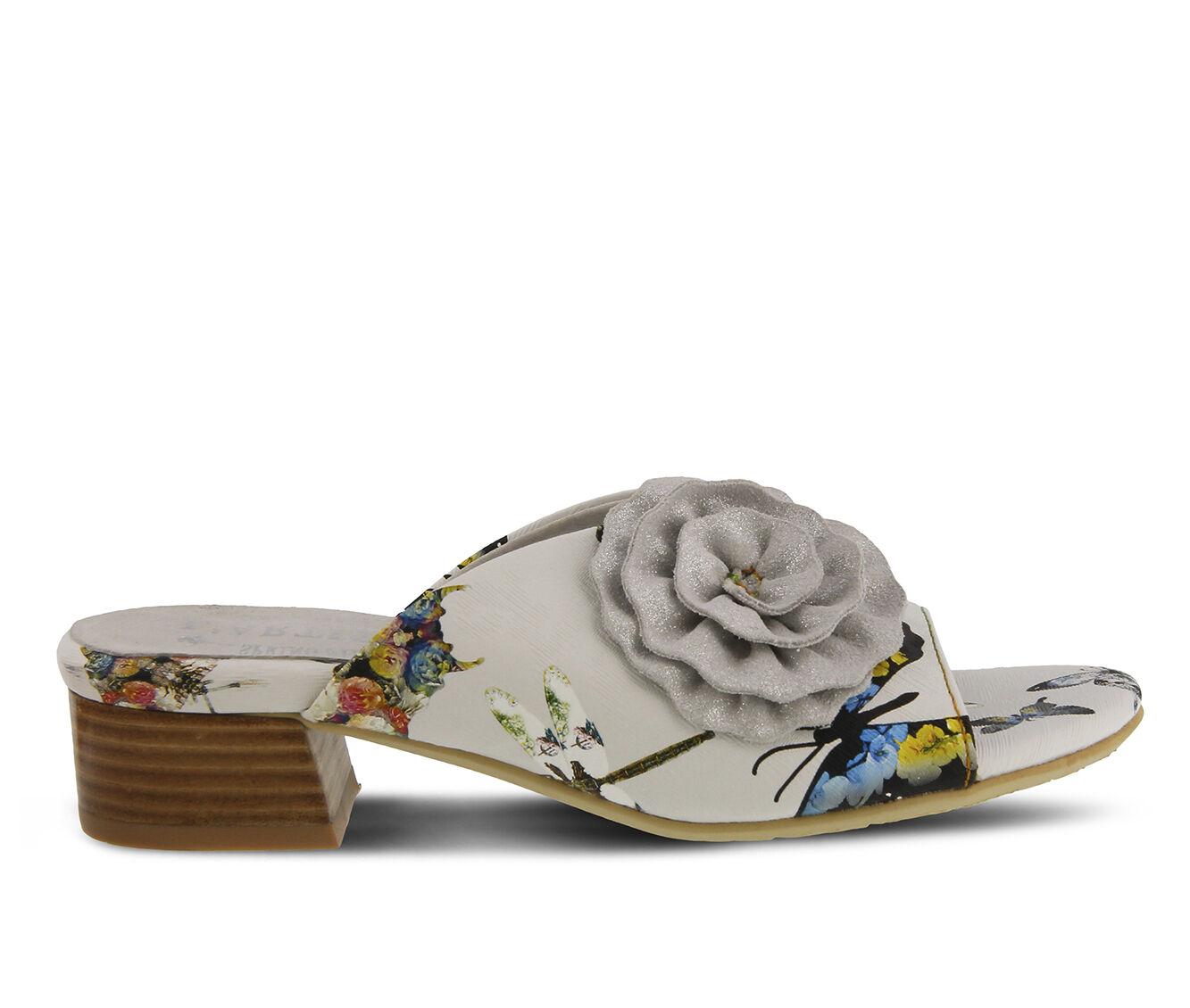 Women's L'ARTISTE Isittora Sandals White Multi