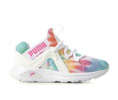 Girls' Puma Little Kid Enzo 2 Tie Dye Sneakers