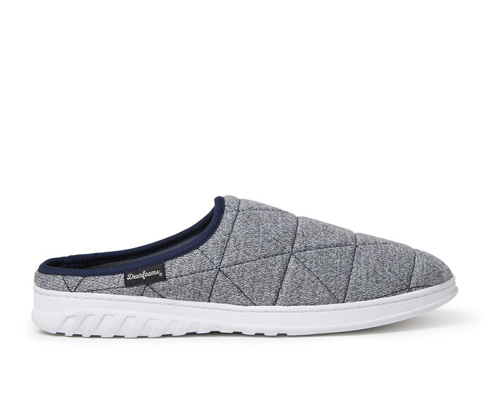 Dearfoams Heathered Knit Quilted Clog
