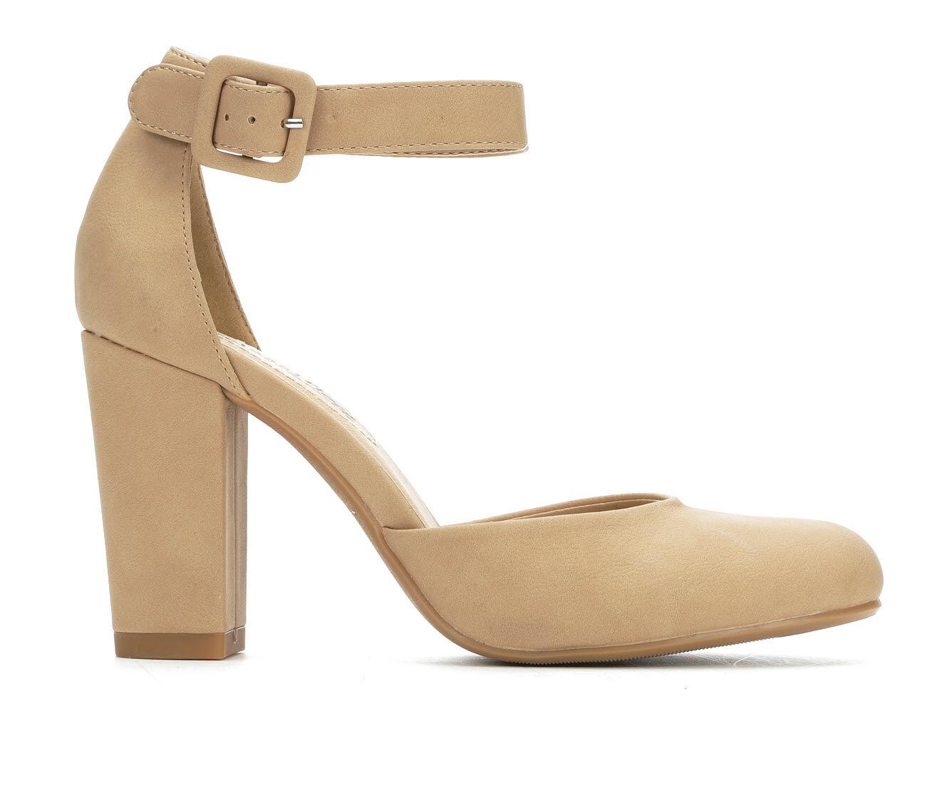 Best Selling Women's City Classified Kaili Heels Natural Nub