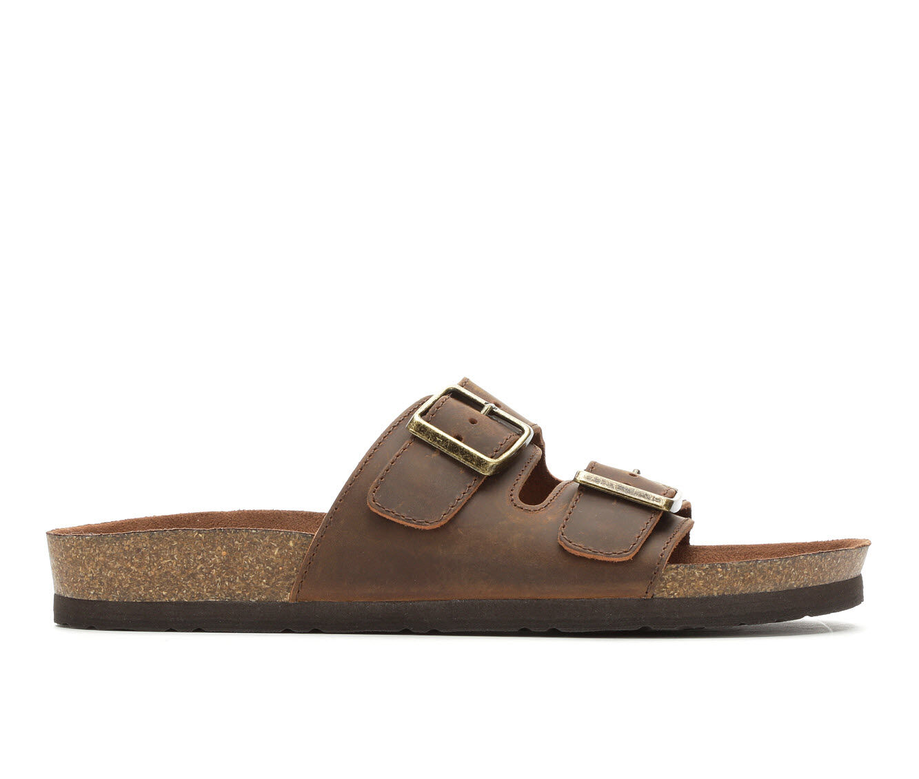 The Lowest Price Men's White Mountain Hanz Footbed Sandals Brown
