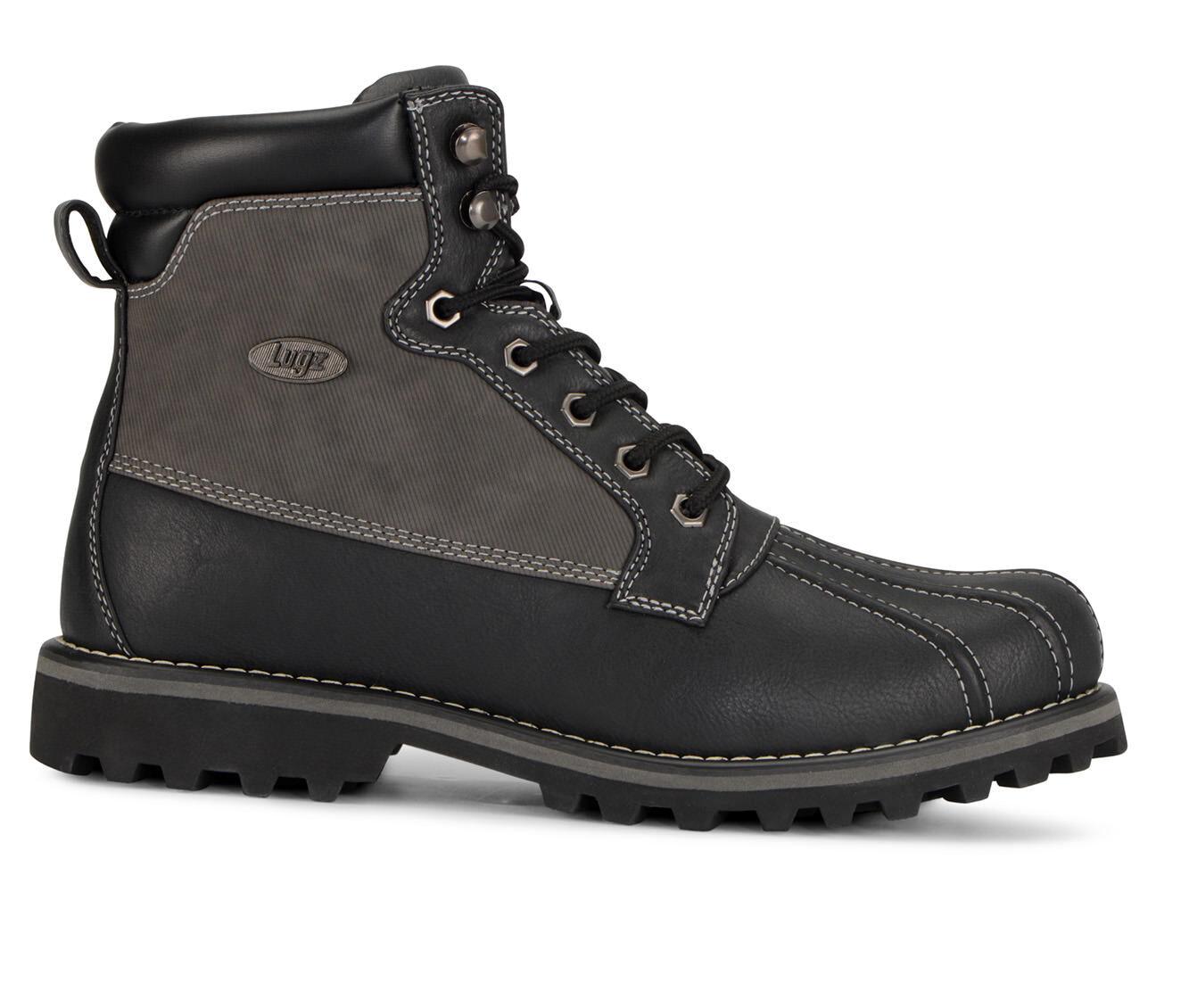 Men's Lugz Mallard Duck Boots Black/Charcoal