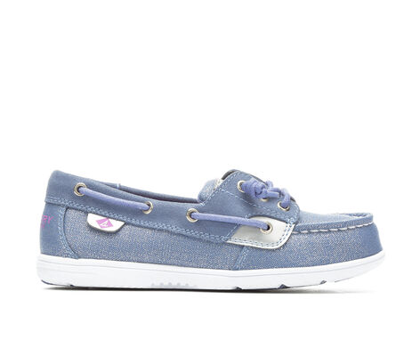 Girls' Sperry Shoresider 12.5-6 Boat Shoes