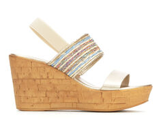 Women's Italian Shoemakers Fannie Wedges