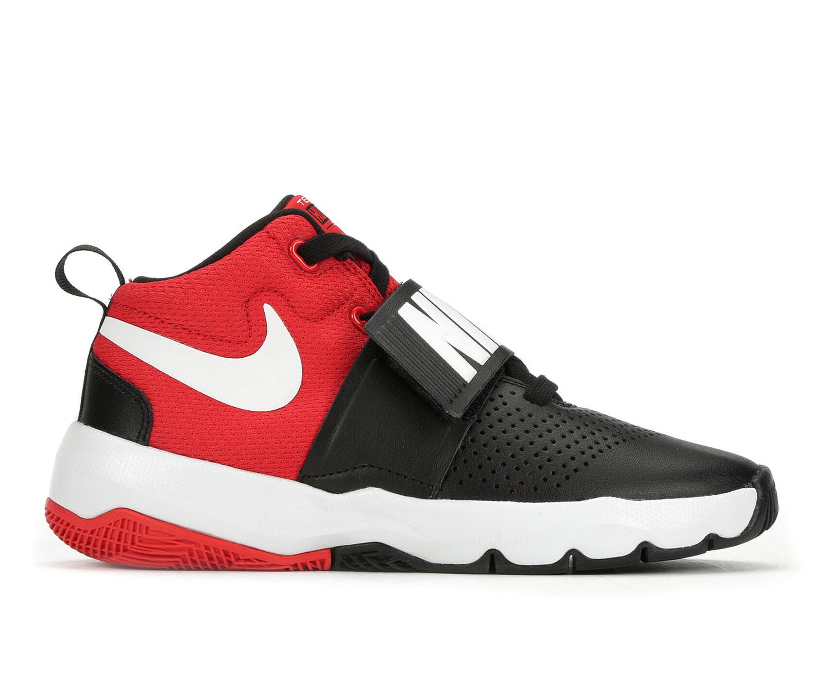 fafb3e8ac3 Boys' Nike Little Kid Team Hustle D8 High Top Basketball Shoes