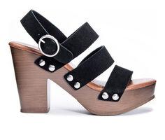 Women's Chinese Laundry Flower Platform Heeled Sandals