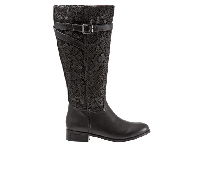 Women's Trotters Lyra Wide Calf Knee High Boots