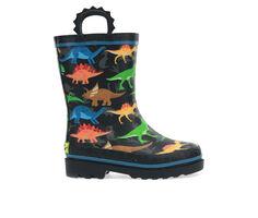 Kids' Western Chief Little Kid & Big Kid Dino World Dinosaur Rain Boots