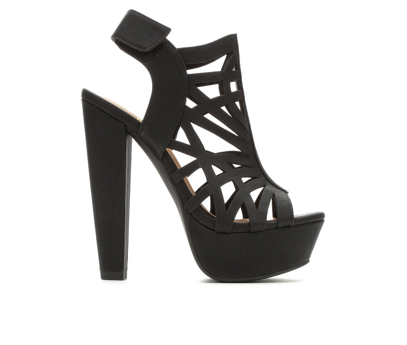 Women's Delicious Factor Heeled Sandals Black