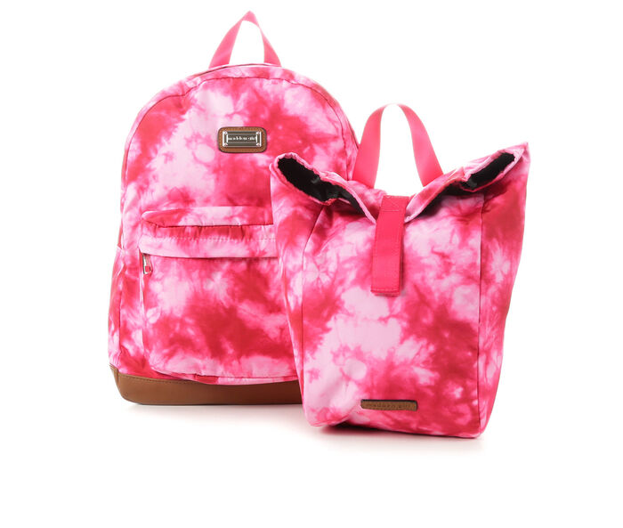 Madden Girl Nylon Backpack with Lunch Box