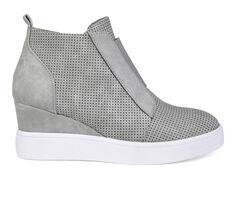 Women's Journee Collection Clara Wedge Sneakers