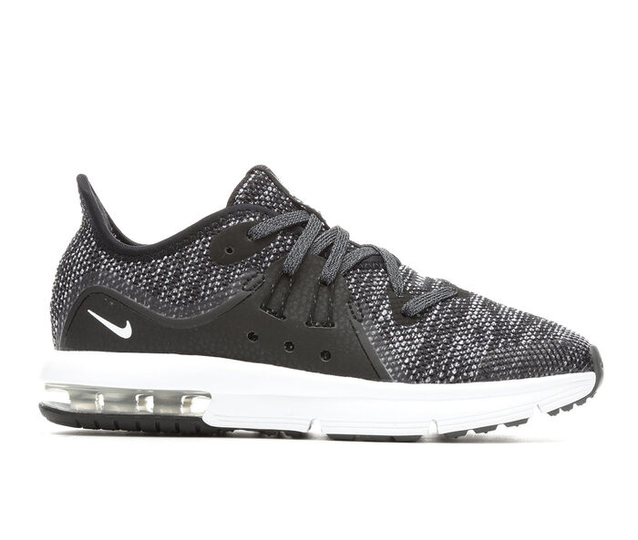 Boys' Nike Air Max Sequent 3 10.5-3 Running Shoes