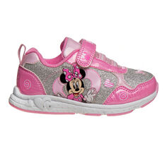 Girls' Disney Toddler & Little Kid CH85261C Minnie Mouse Light-Up Sneakers