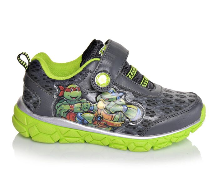 Boys' Nickelodeon TMNT Light Up 7-12 Light-Up Shoes