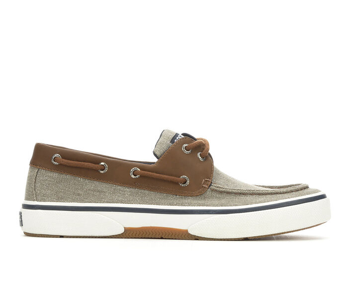 Men's Sperry Halyard 2 Eye Chambray Casual Shoes