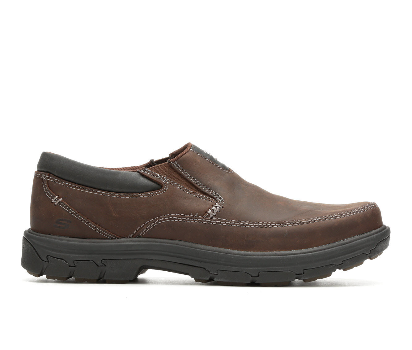 Men's Skechers Search 64261 Dark Brown