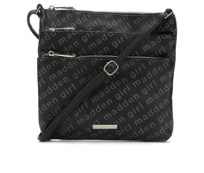 Madden Girl Handbags Triple Zip Crossbody