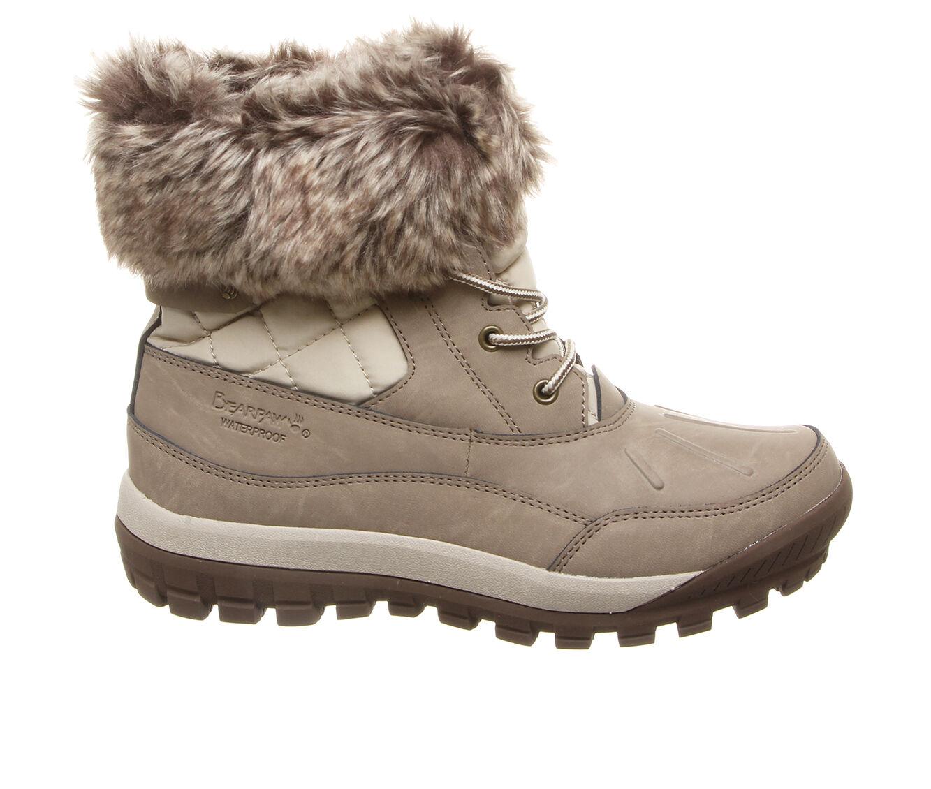 autumn styles Women's Bearpaw Becka Winter Boots Stone