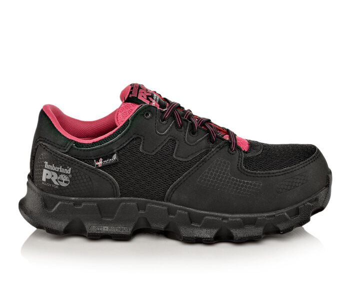 Women's Timberland Pro Powertrain Safety Toe Ladies 92669 Work Shoes