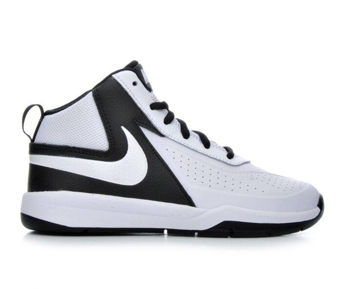 Boys' Nike Team Hustle D7 10.5-3 Basketball Shoes