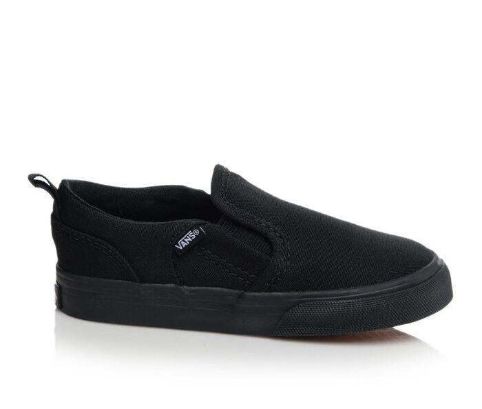 Kids' Vans Infant Asher V 4-10 Slip-On Skate Shoes