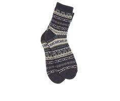 FireSide Men's 1-Pair Crew Socks
