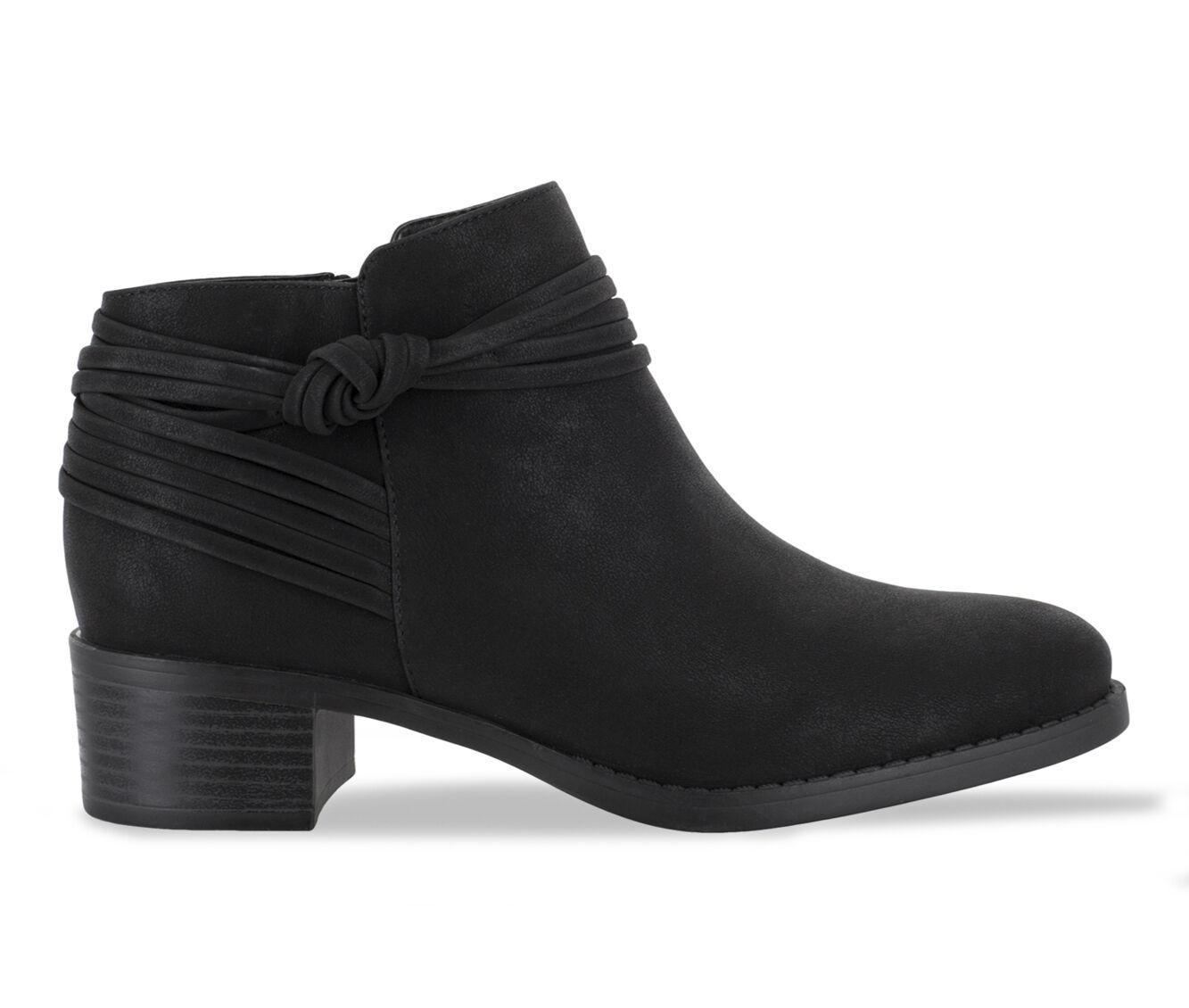 Women's Easy Street Wylie Booties Black Matte