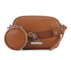 Madden Girl Double Zip Crossbody w/ Pouch Bag