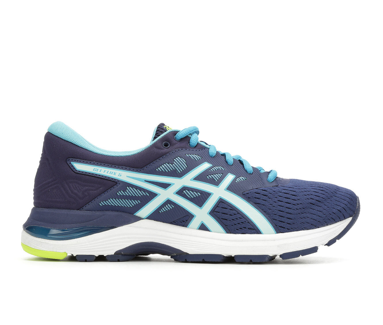 Women's ASICS Gel Flux 5 Running Shoes Blue/Sea/White