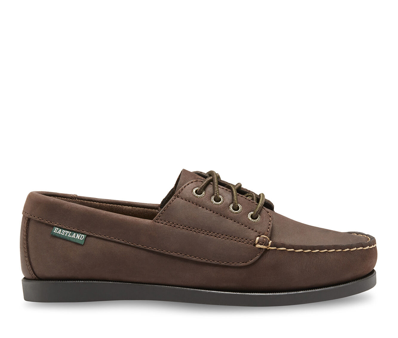 Women's Eastland Falmouth Boat Shoes Bomber Brown