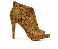 Women's Fergalicious Taylor Stiletto Peep Toe Booties