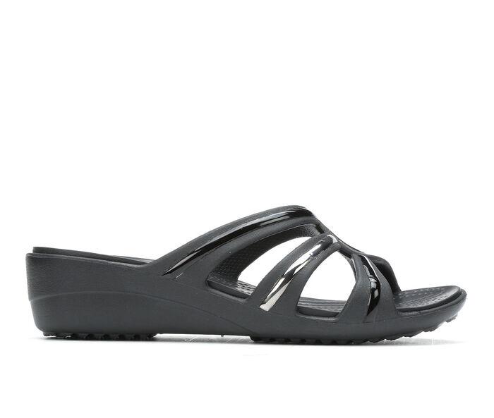 Women's Crocs Sanrah Metalblock