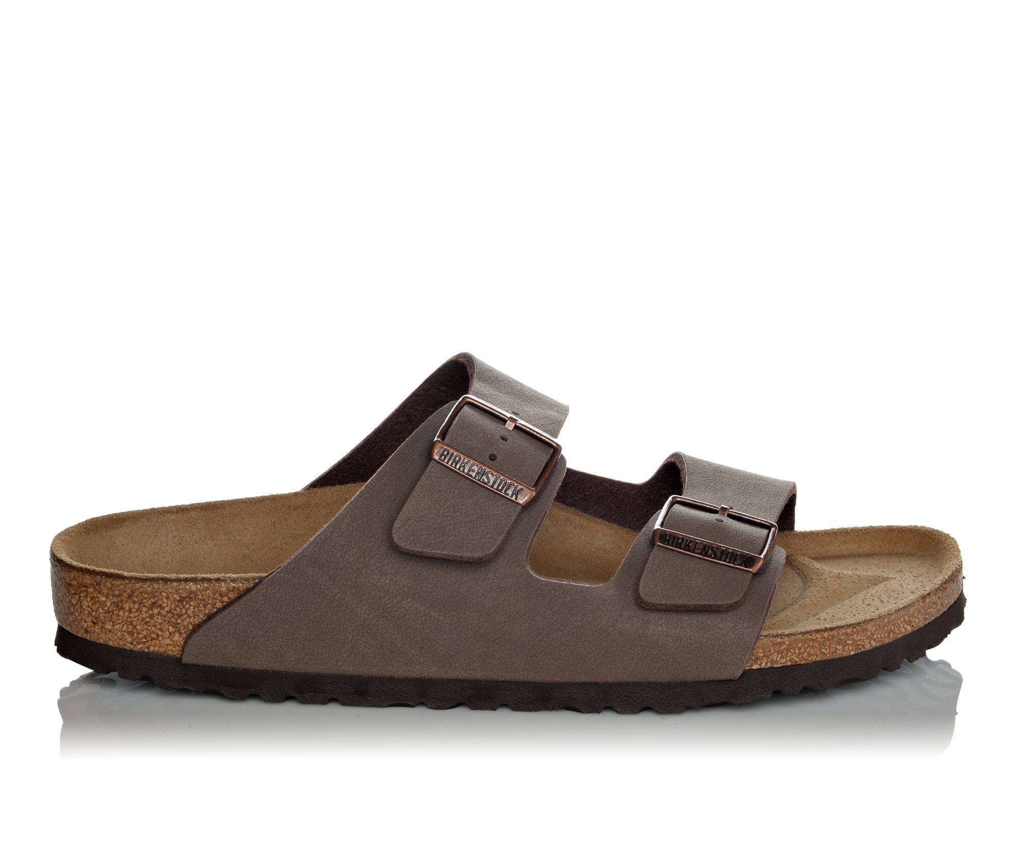 buy new series Men's Birkenstock Arizona 2 Buckle Outdoor Sandals Mocha