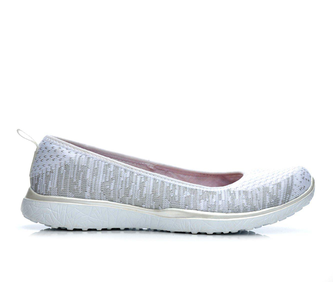 skechers ballet flats Silver