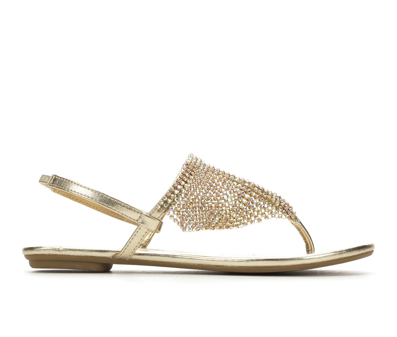 new style Women's Y-Not Addilyn Sandals Lt Gold Met