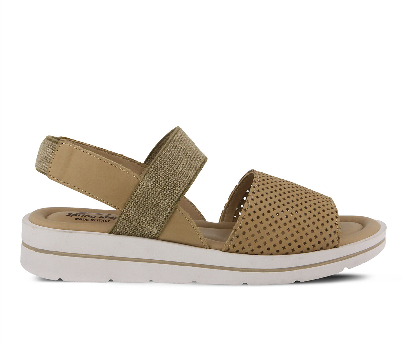 fast shipping Women's SPRING STEP Travel Sandals Beige