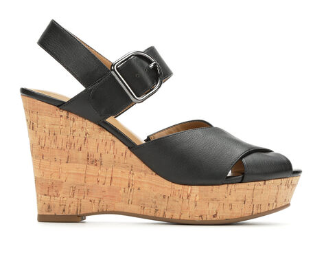Women's Franco Sarto Sarabeth Cork Wedge Sandals