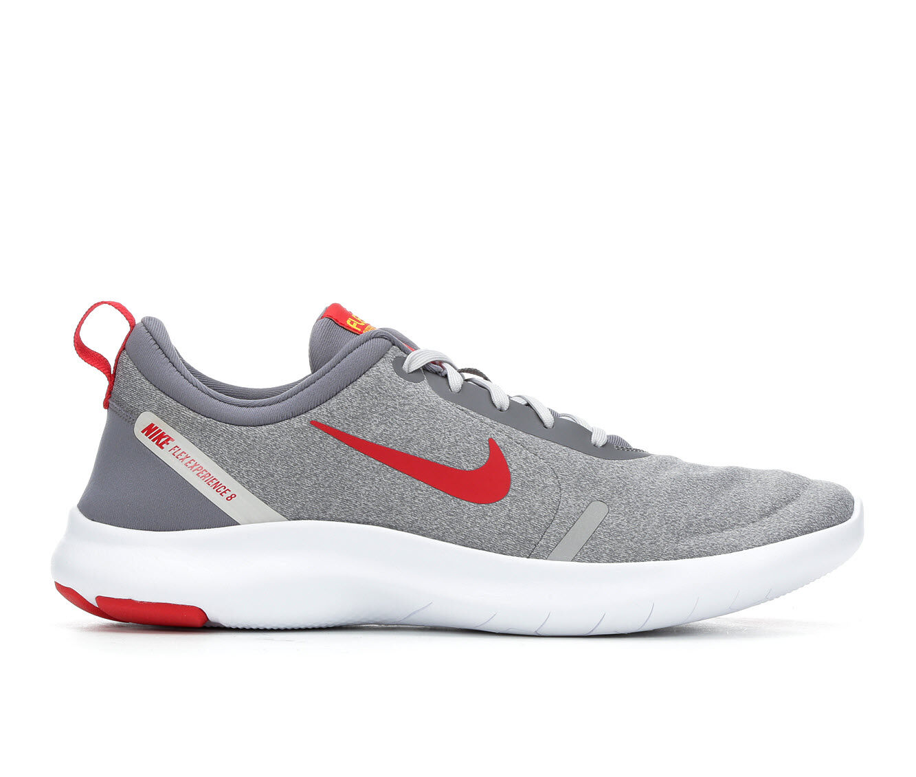 Best Selling Men's Nike Flex Experience Rn 8 Running Shoes Gry/Wht/Red