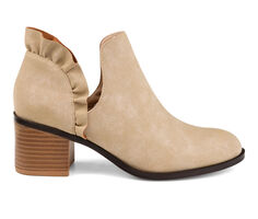 Women's Journee Collection Lennie Side Slit Booties